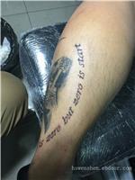 但从医学上讲纹身是影响身体健康的