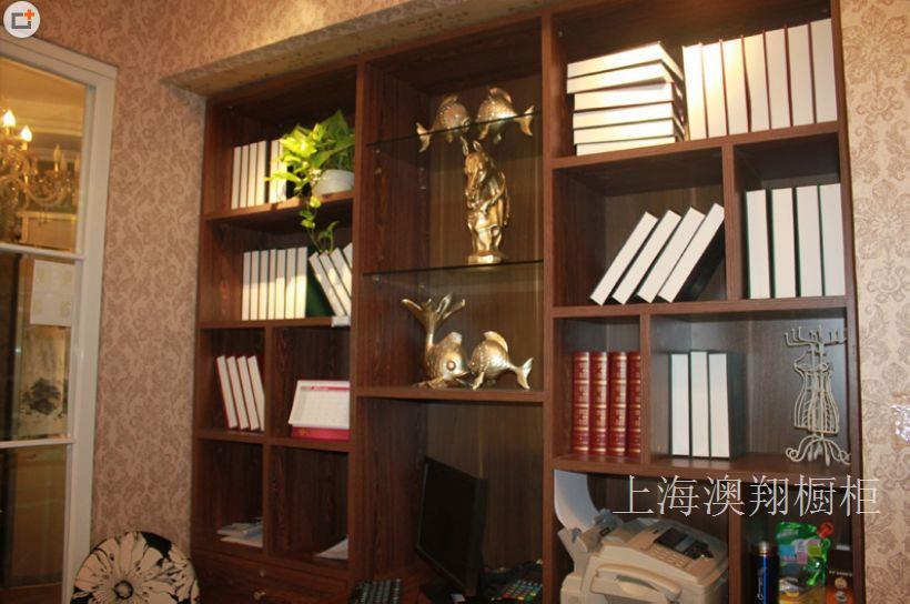 上海书柜定做厂家/上海书柜加工厂