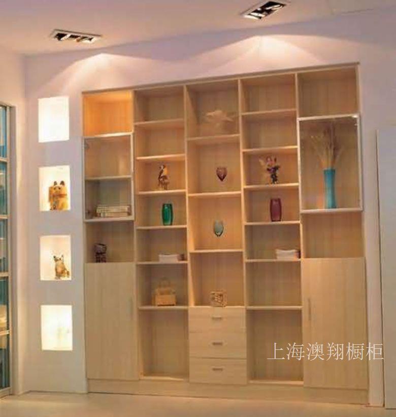 上海书柜定做厂家