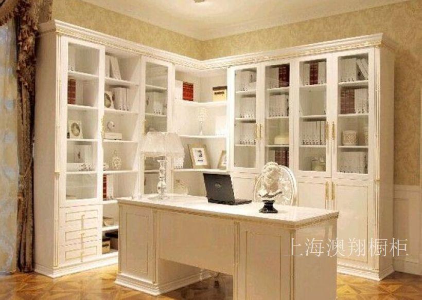 上海书柜定做公司/上海整体书柜定做