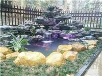 鱼池假山设计