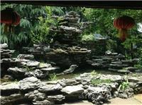 上海鱼池假山