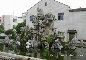 上海做假山的