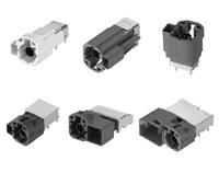 CAM-K22LN/LR, CAM-K24, CAM-K72LN, CAM-K83, CAM-K56 HSD连接器 (HSD+2, HSD+4, HSD+8)