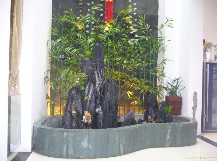 上海室内鱼池水景制作高清图片