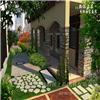 私家别墅庭院设计3