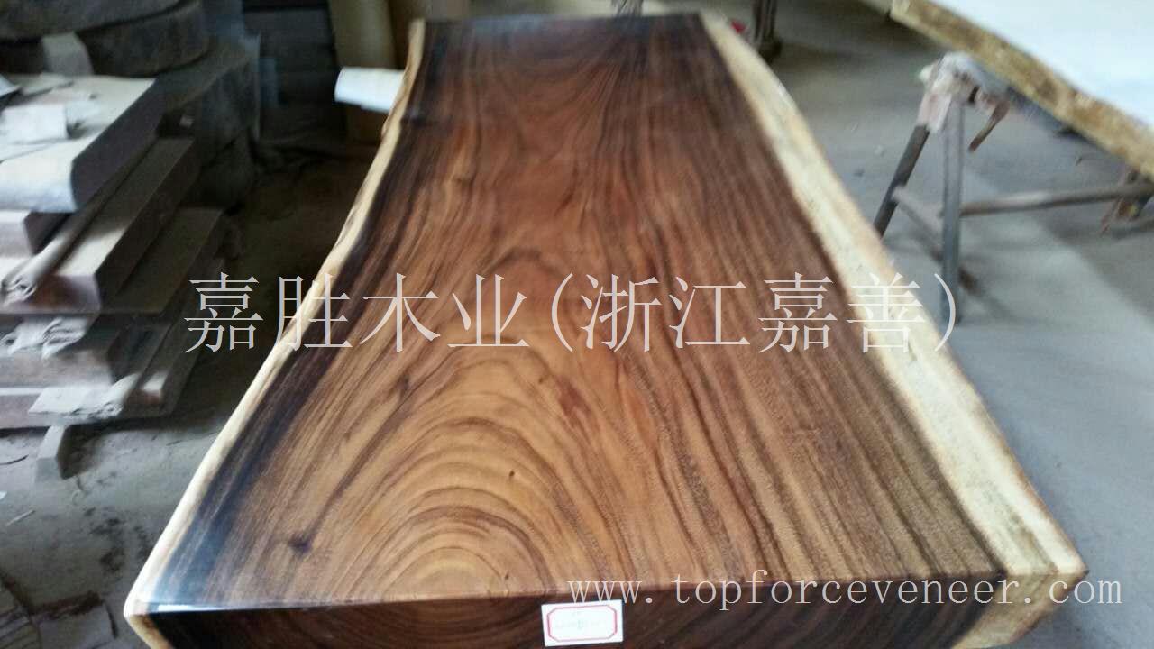 南美胡桃木桌板 South American Walnut Table Top