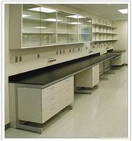 钢木结构单面实验台 实验室设备 实验室家具