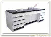 全木结构单面实验台 实验室设备 实验室家具