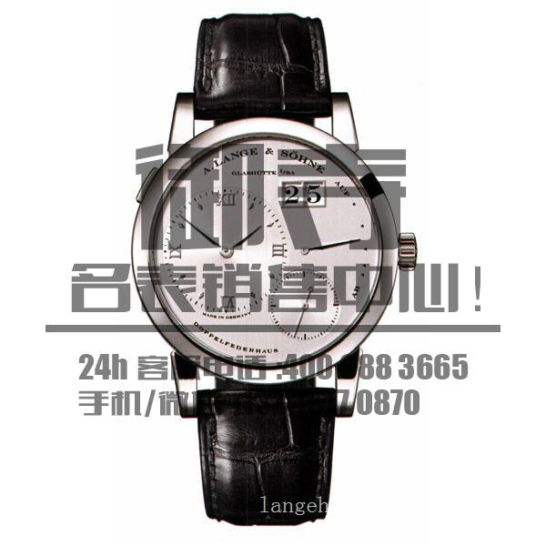 朗格手表回收/朗格101.025白金朗格回收价格