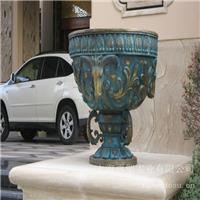 铸铜花钵_不锈钢雕塑设计公司