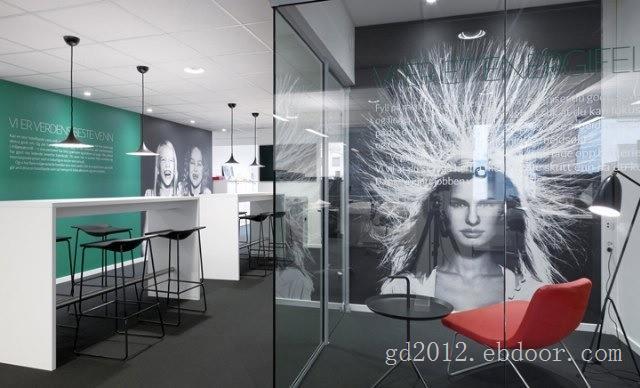 玻璃隔断,办公室玻璃屏风