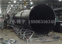 最专业的PE双平壁排水管材 18806356348