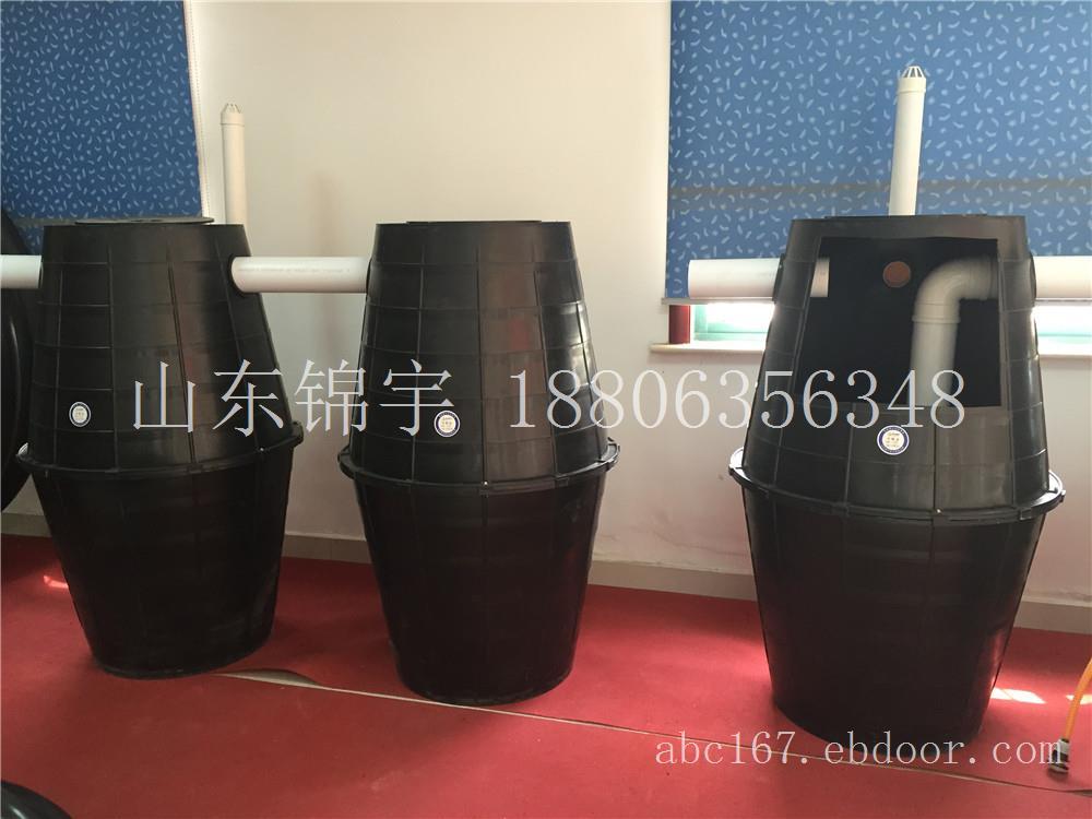 河南农村专用化粪池双瓮漏斗式