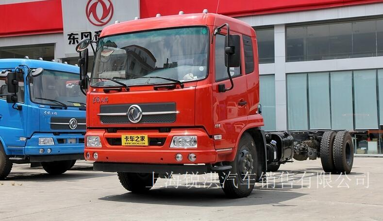 东风商用车 天锦中卡 160马力 4X2 4X2载货车底盘(DFL1120B18)-上海东风卡车专卖,上海东风天锦载货车专卖