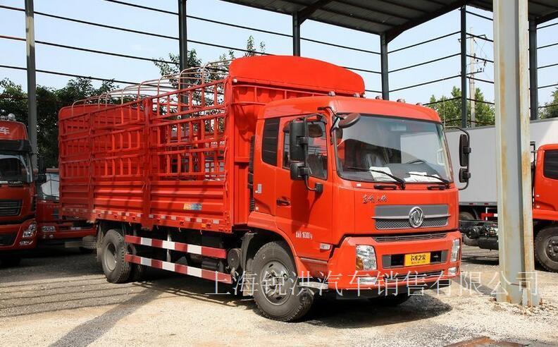 东风商用车 天锦中卡 180马力 4X2 6.8米排半仓栅式载货车(DFL5160CCQBX5)-上海东风卡车,上海东风卡车4S店