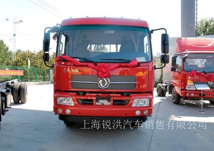 东风商用车 天锦中卡 160马力 4X2 6.8米排半栏板载货车(DFH1160BX1JVA)-上海东风天锦卡车,上海东风天锦4S
