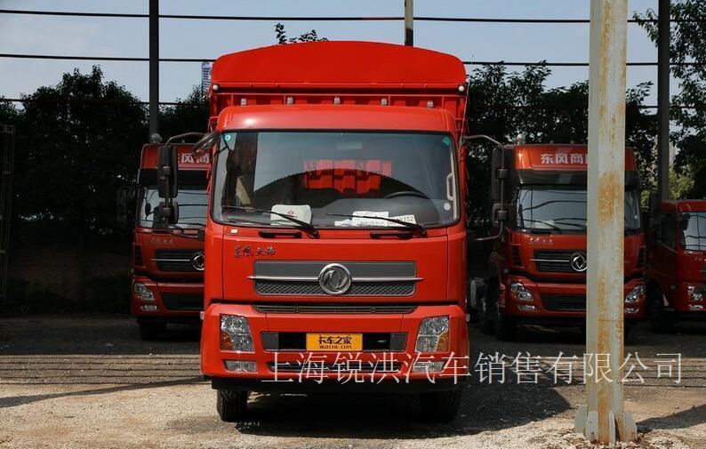 东风商用车 天锦中卡 270马力 6X2 8.6米仓栅式载货车(DFH5250CCYBX5A)-上海东风卡车4S店,上海东风天锦载货