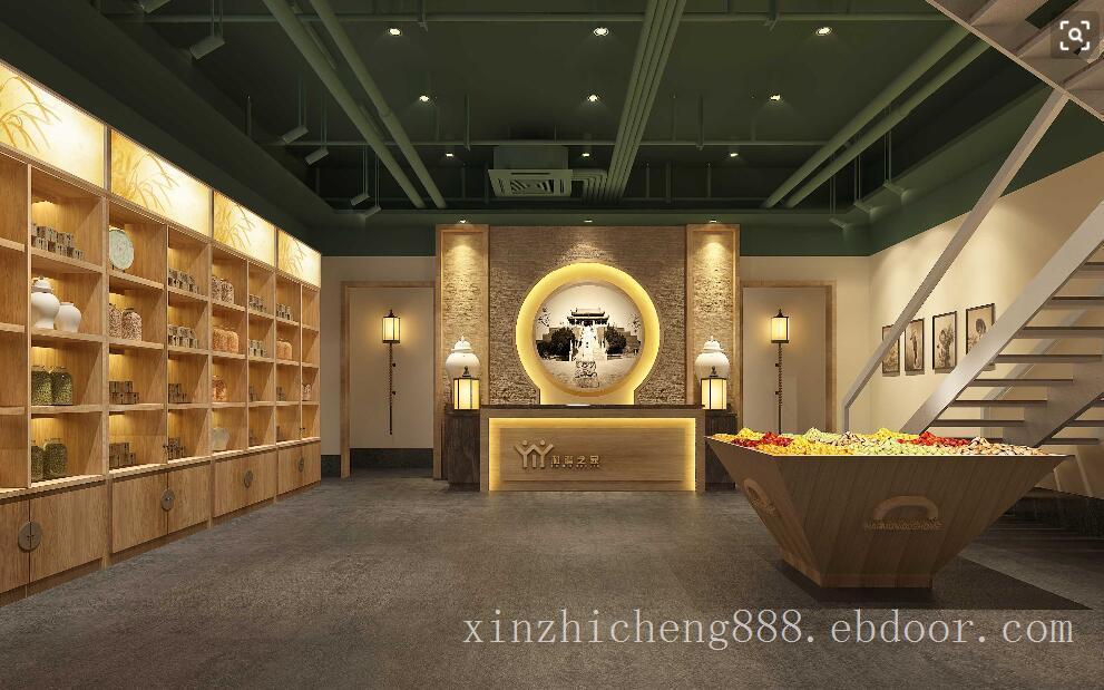 定制展厅设计灯光,展厅灯光布置效果,展厅灯光照明工程,中式展厅复古展厅灯光照明