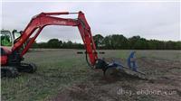 挖掘机改装开沟机