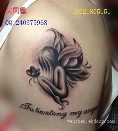 小天使纹身图片大全
