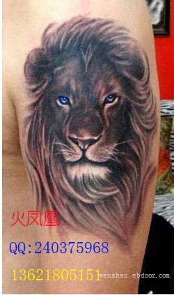狮子纹身图案大全