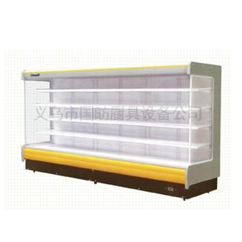商用风幕柜/立式展示柜/点菜柜/超市矮风柜