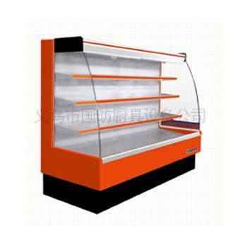 商用立式风幕柜/立式展示柜/点菜柜/超市陈列柜