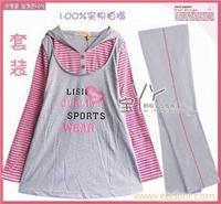 冬款孕妇装秋冬装★3589时尚可爱韩版孕妇套装