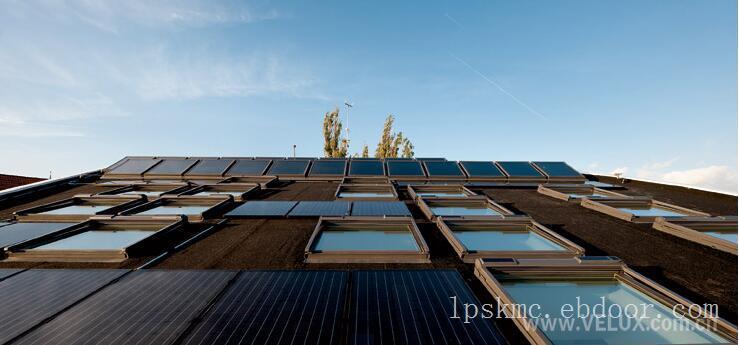 欧式太阳能动力窗