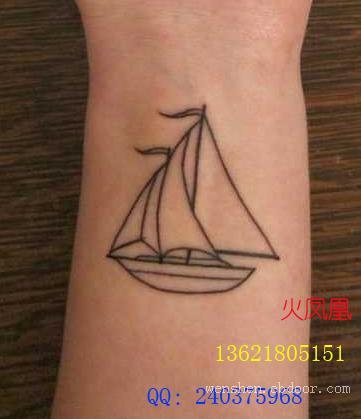 帆船纹身图片大全|hfhws.cn|上海纹身店