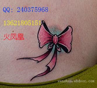 蝴蝶结纹身图案大全|hfhws.cn|上海纹身店