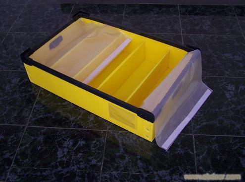 周转箱加防水盖布