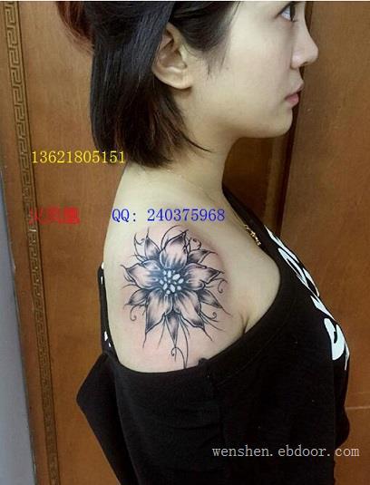 水仙花纹身图案大全|上海纹身店|13621805151