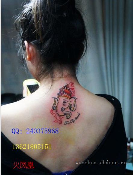 泰国象纹身图案大全