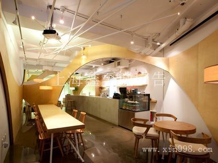 长宁区咖啡饮品连锁店设计/长宁区咖啡品牌体验店装修/长宁区个性咖啡馆创意