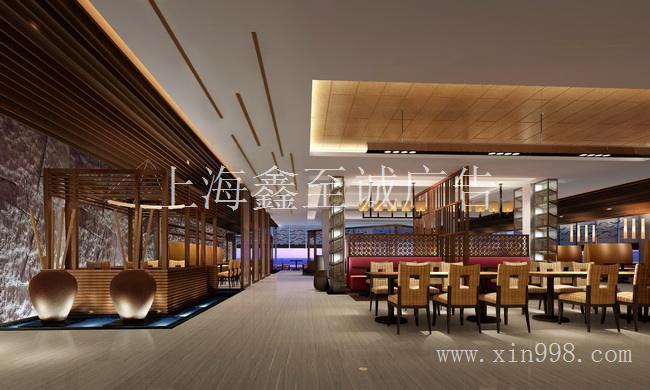 杨浦区品牌连锁饭店装修/杨浦区餐厅装潢设计