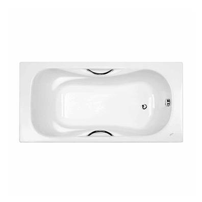 1.6米无裙铸铁浴缸(带扶手)