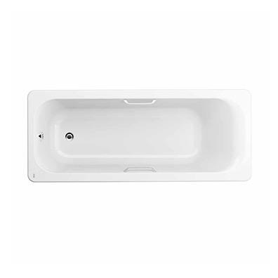 艾迪珂 1.7米无裙铸铁浴缸(带扶手)