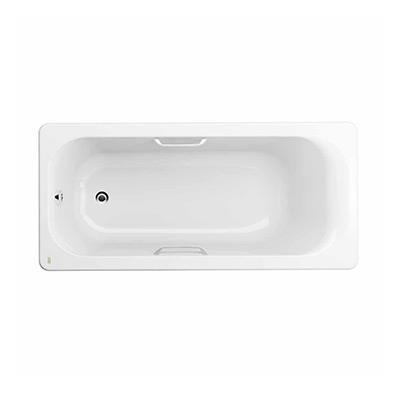 艾迪珂 1.5米无裙铸铁浴缸(带扶手)