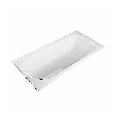 1.5米无裙带扶手钢板浴缸