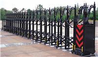 黑色标准铸铝门:无轨电动伸缩门/上海无轨伸缩门/求购上海电动门