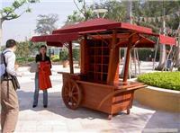 上海防腐木售货车加工