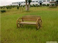 上海浦东防腐木家具-双轮座椅生产