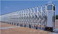 银宝石AB:铝合金电动伸缩门/上海铝合金伸缩门/电动大门