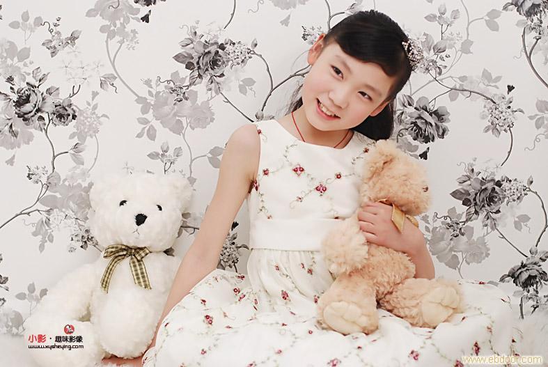 10岁小美女影棚及外景集合