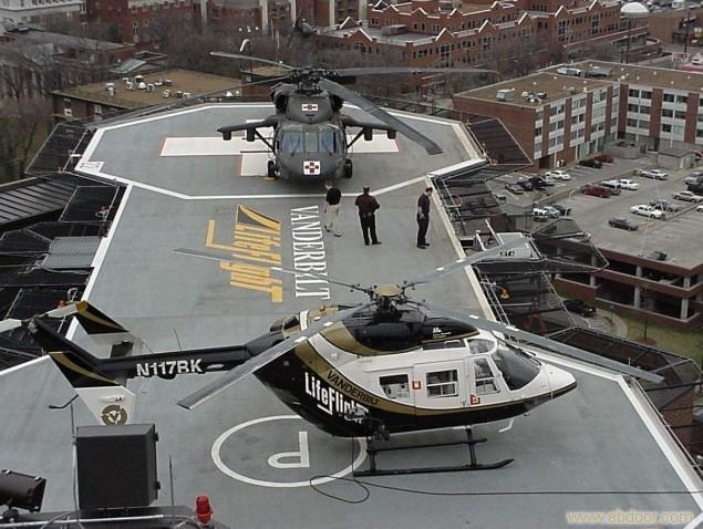 有限公司的直升机停机坪