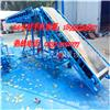C型钢皮带输送机生产厂家 张家港市食品级转弯平行带式输送机
