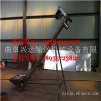 好用219mm圆管螺旋粉料提升机 晋城市固定高度不锈钢绞龙上料机