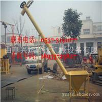 粉末颗粒固定式绞龙输送机 石家庄108管径3米长螺杆上料机批发